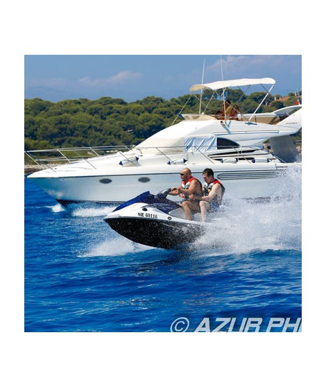 Jet skiing tour to Cap d'Antibes and the Esterel