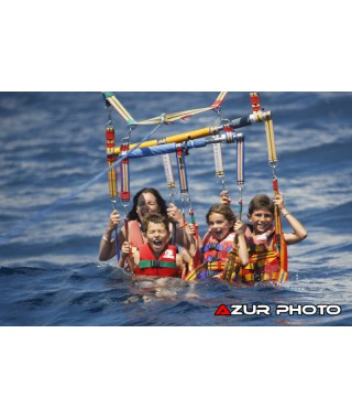 Parasailing cannes 4 persons