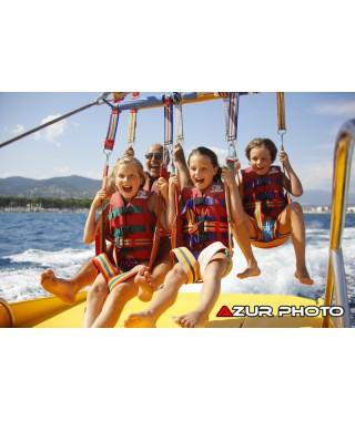 Parachute ascensionnel 5 enfants