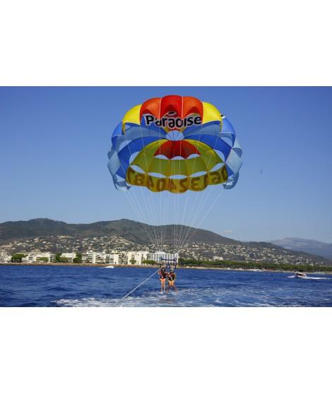Parachute ascensionnel pour 2 personnes uniquement le matin