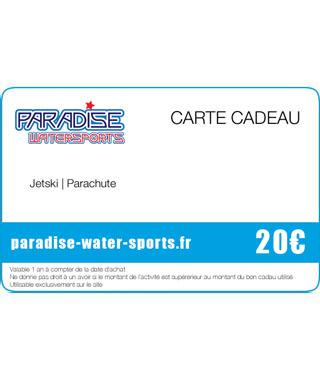 Carte cadeau flyboard jet ski - paradise-water-sports.fr