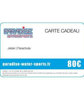 Carte cadeau anniversaire flyboard sup - paradise-water-sports.fr