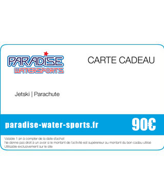 Carte cadeau pack sup flyboard - paradise-water-sports.fr