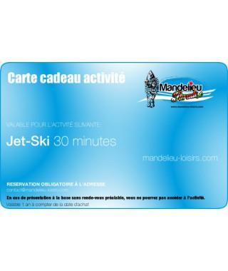 Carte cadeau jet ski 30 minutes - mandelieu-loisirs.com