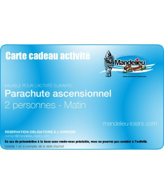 gift card parasailing 2 people morning only - Mandelieu-loisirs.com