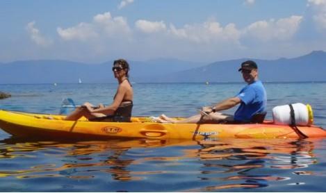 Kayak tour in cannes mandelieu - Mandelieu-loisirs.com