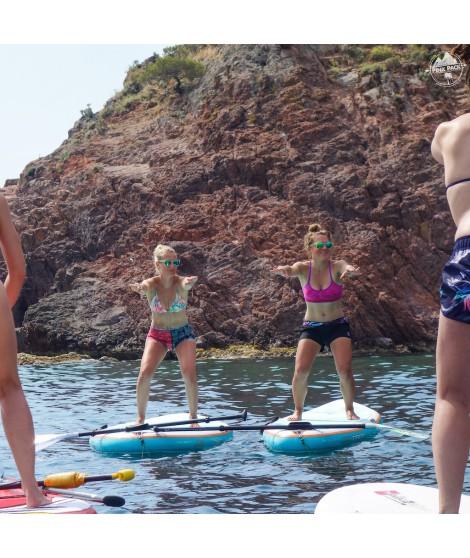 Cours de Sup Yoga 1 heure en baie de cannes - Mandelieu-loisirs.com