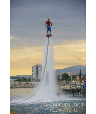 Flyboard initiation promo Cannes Nice Monaco - mandelieu-loisirs.com
