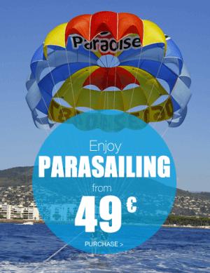 Parasailing - mandelieu-loisirs.com