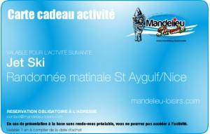 Randonnée jet ski matin Nice/St Aygulf