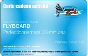 Flyboard perfectionnement 30 minutes
