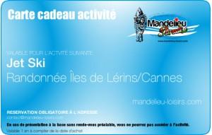 Randonnée jet ski Iles de lérins - Cannes
