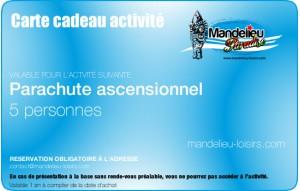 Parachute ascensionnel - 5 personnes