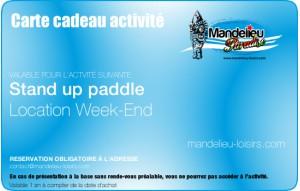 Stand up paddle - Week end ou 2 jours consécutifs