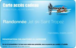 Randonnée jet ski saint tropez