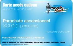 Parachute ascensionnel - SOLO